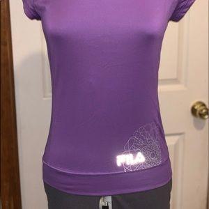 Fila Sport T-shirt reflecting Fila on bottom